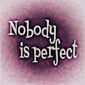 nobody is perfect image