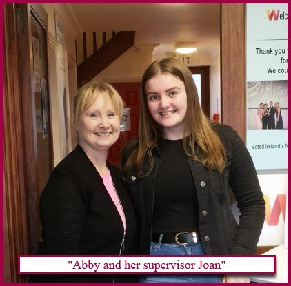 Abby-and-her-supervisor-Joan image